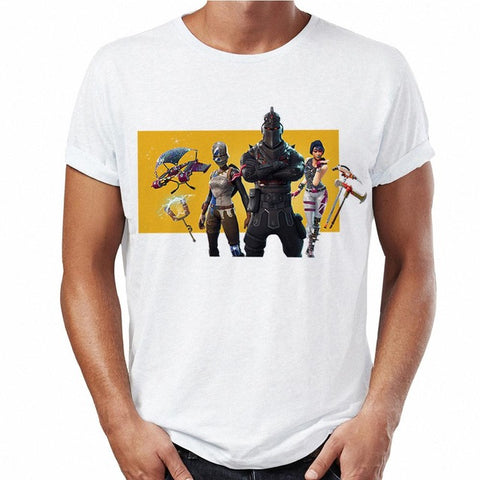 T-shirts Fortnite Print Custom Graphic Tees