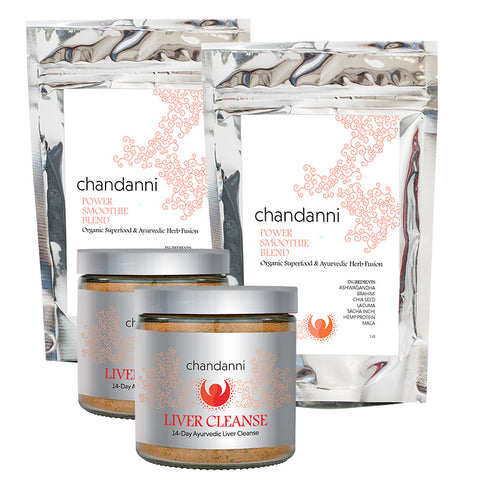 Double Season Bundle: Two Liver Cleanses & Two Power Smoothie Blends