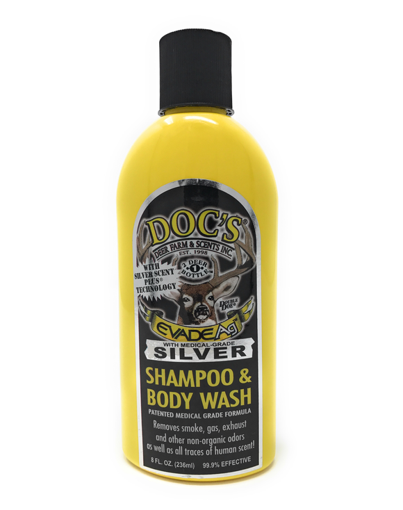 Evade Silver Shampoo & Body Wash (8 oz.)
