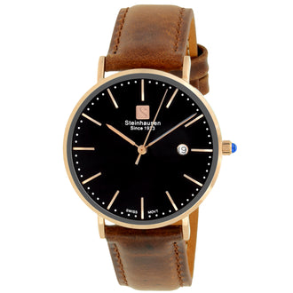 Burgdorf Collection Women - Rose Gold / Black / Brown