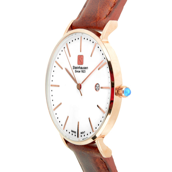 Burgdorf Collection Women - Rose-Gold / Brown