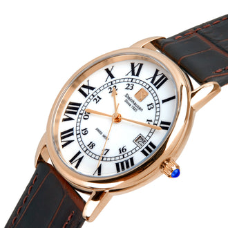 Delémont Collection - Rose-Gold / Brown