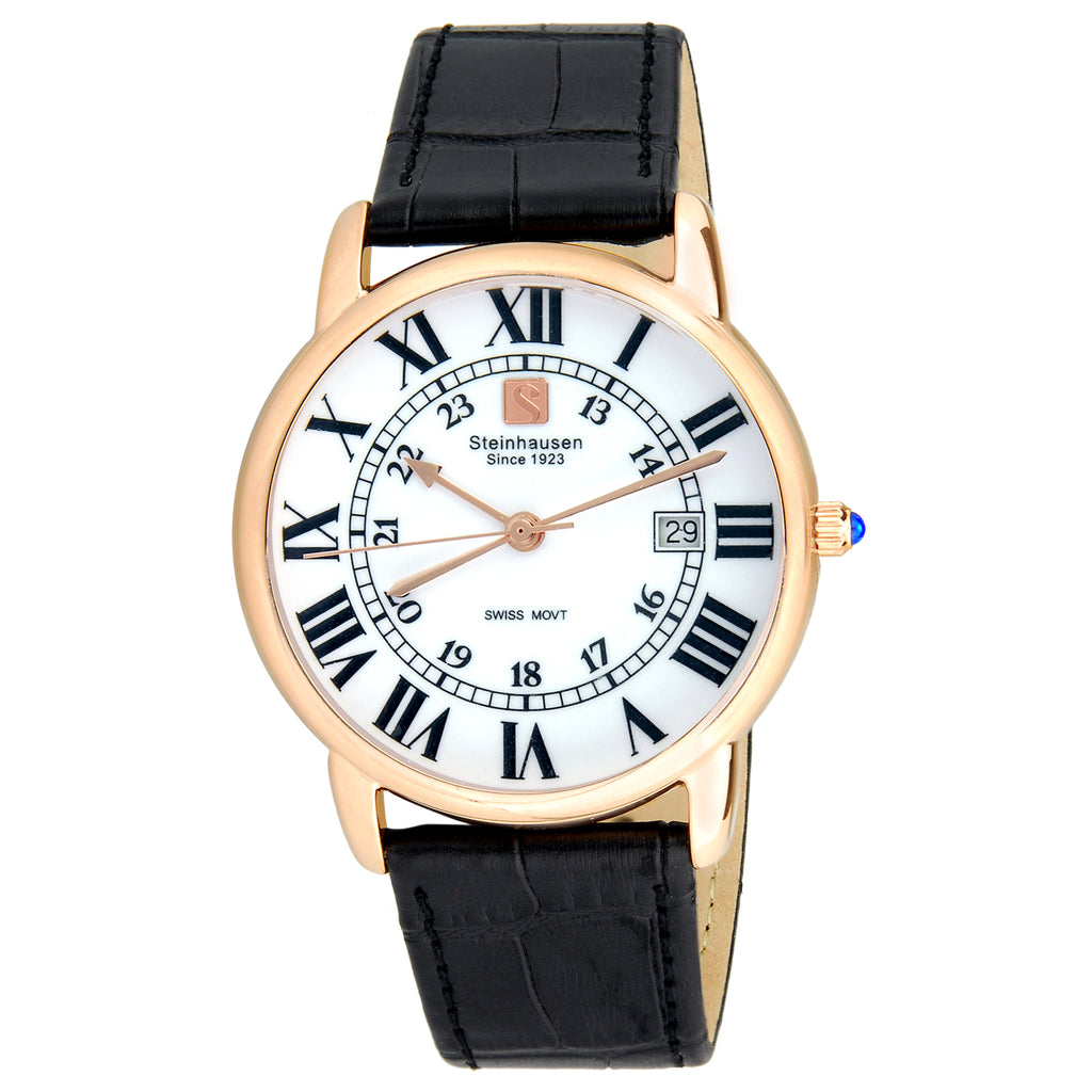 Delémont Collection - Rose-Gold / Black