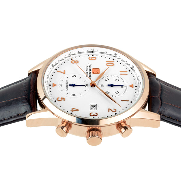 Lugano Collection - Rose-Gold / Brown