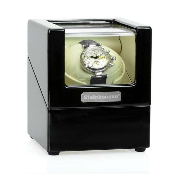 Steinhausen Heritage Single Watch Winder With Ultra Quiet Motor and Multiple Modes