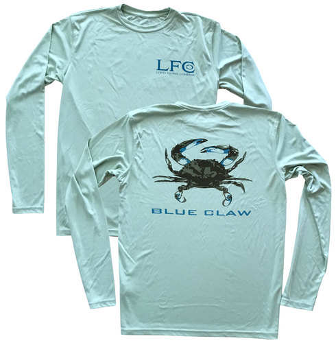 Blue Claw Long Sleeve // 2 Colors