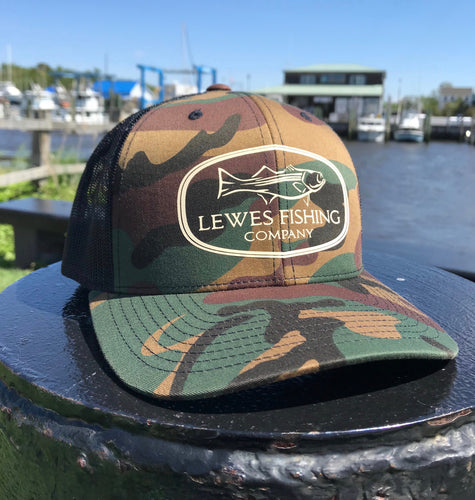 LFC Badge Trucker // Camo
