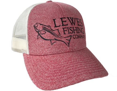 LFC Striper Trucker // Heather Red