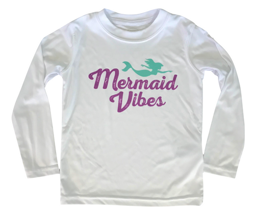 Mermaid Vibes Kids Sun Shirt