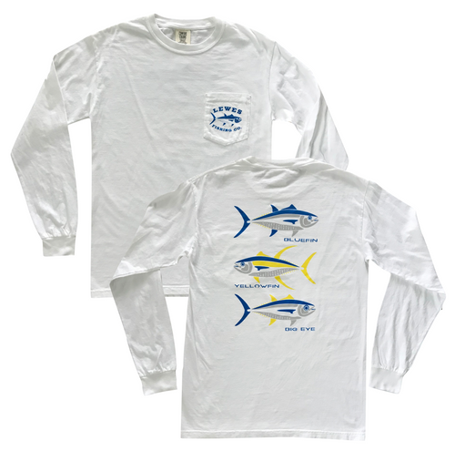 Tuna Long Sleeve Pocket