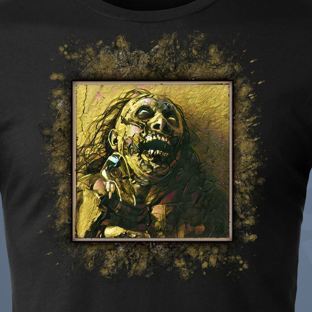 NEW ZOMBIE T-SHIRT added to our collection! CHOKED OUT JERRY