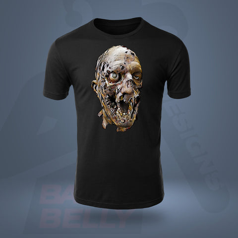 T-Shirt - ELEGANT DECAY T-SHIRT BLACK