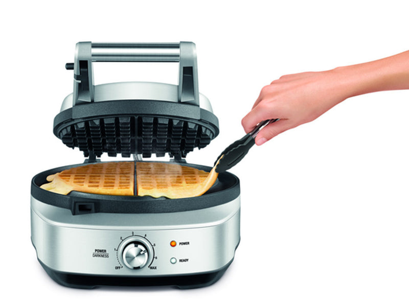 breville waffle maker instructions