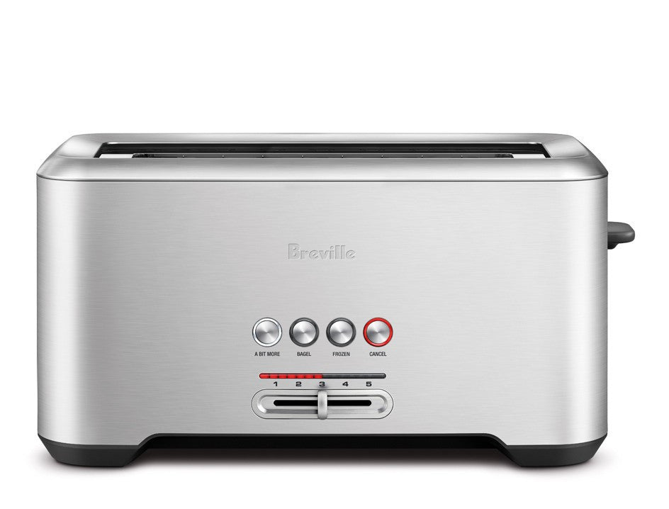 steel toaster stainless reviews breville slice