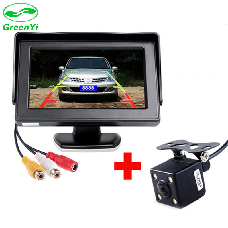 GreenYi 2In1 Car Parking System Kit 4.3
