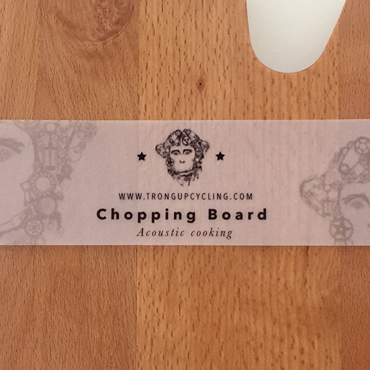Acoustic Chopping Board