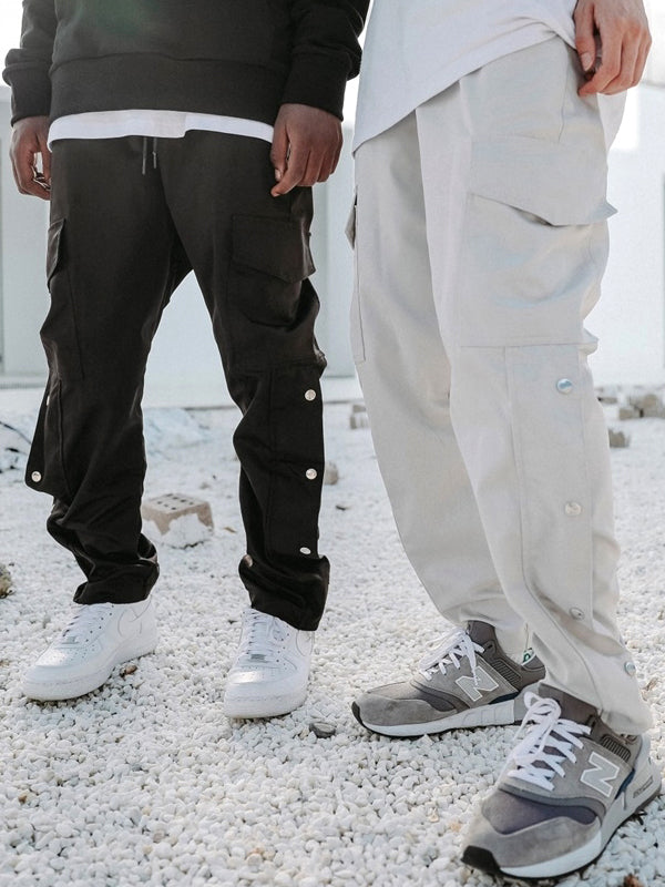 SATIN SNAP CARGO PANTS V2