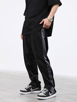 STRIPED VELOUR PANTS V1