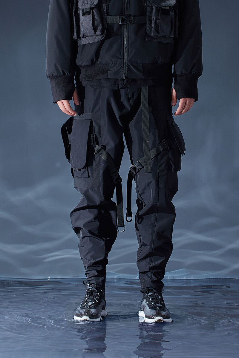 TECHWEAR STRAPPED PANTS - RL | 18A/W