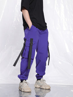 Strapped Cargo Pants