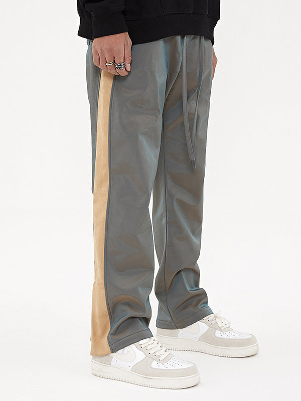 STRIPED VELOUR PANTS V2
