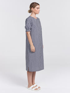 CLEMENTINE | NAVY CHECK
