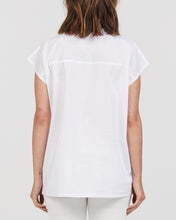 LUELLA MATERNITY AND NURSING COTTON TOP WHITE BACK