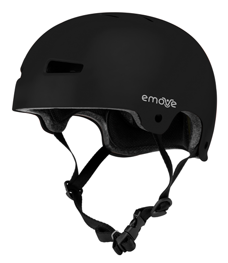 Casco Emove, negro, regulable