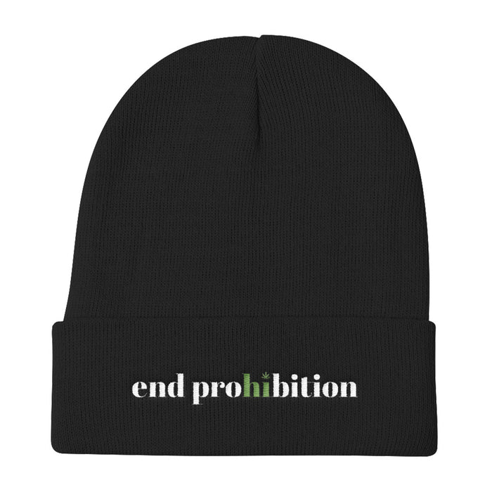 End Prohibition - Knit Beanie - ilovemaryjane