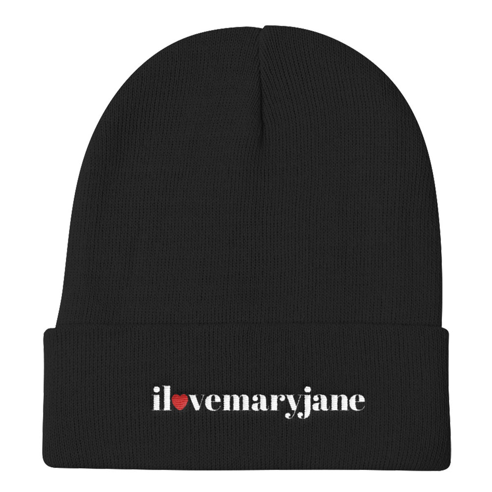 I Love Mary Jane Logo - Knit Beanie - ilovemaryjane