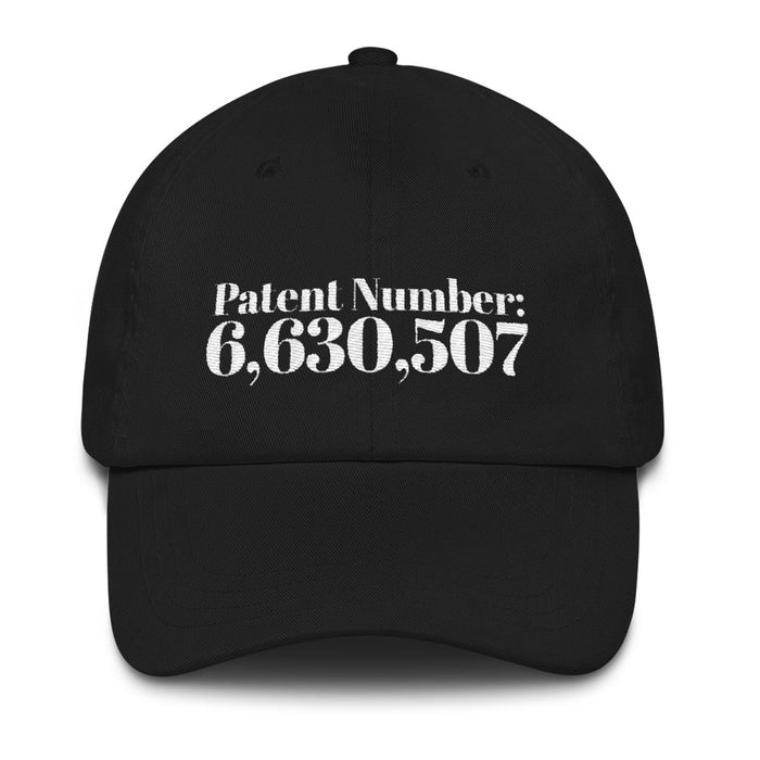 Patent # for Cannabis - 6-Panel Cotton 'Dad' Cap - ilovemaryjane