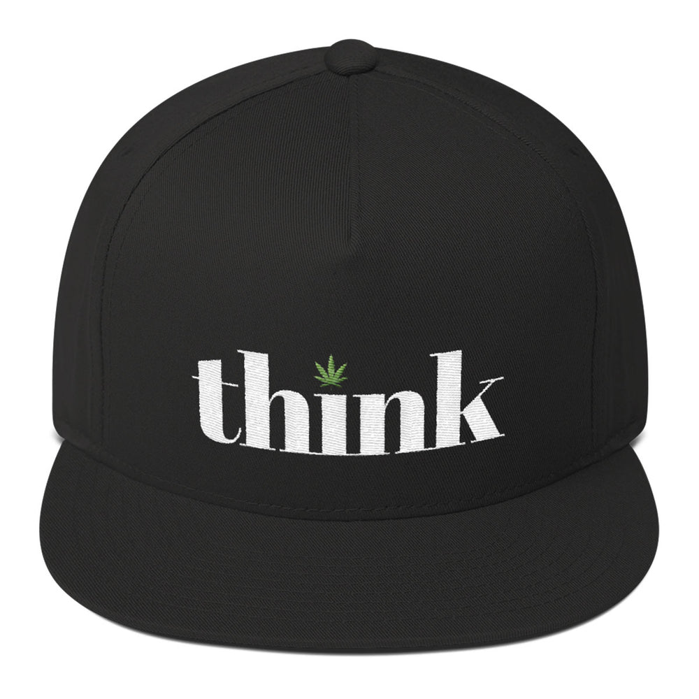 Think Cannabis - Snap Back Cap - ilovemaryjane