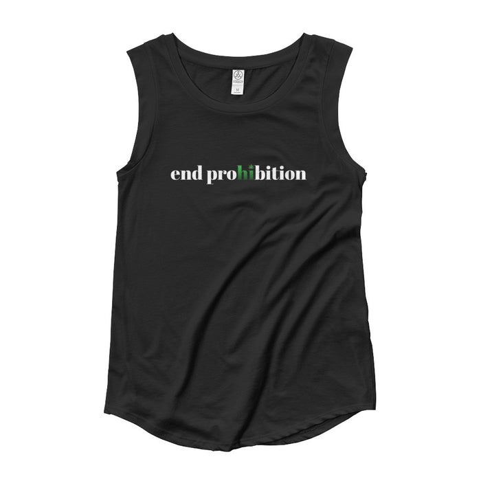 End Prohibition - Womens' Cap Sleeve T-Shirt - ilovemaryjane