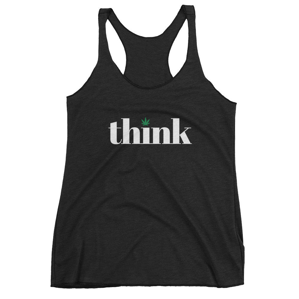 Think Cannabis - Women's Tank Top - ilovemaryjane