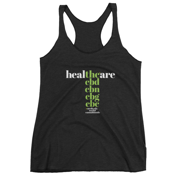 THC in Healthcare - Women's Tank Top - ilovemaryjane