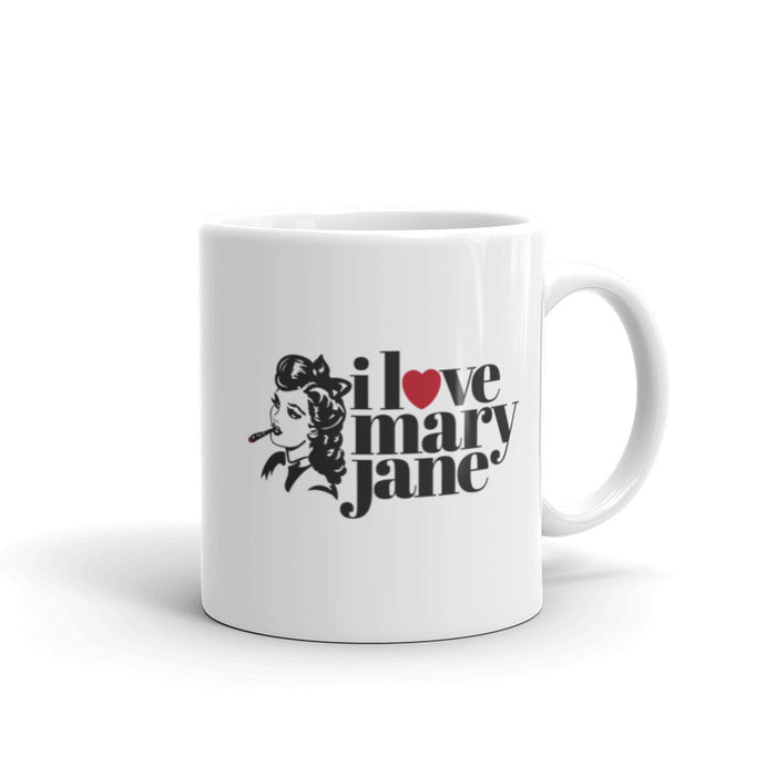 I Love Mary Jane Logo - 11 oz. Mug - ilovemaryjane