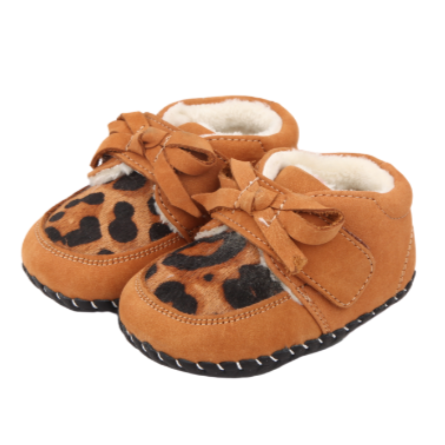 Leopard Baby Shoes - Two Little Feet