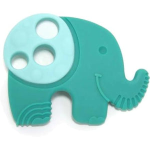 M&M SENSORY BABY TEETHER - ELEPHANT - Two Little Feet