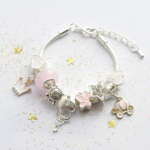 Cinderella Charm Bracelet by Lauren Hinkley - Two Little Feet