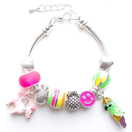 Tropical Charm Bracelet by Lauren Hinkley