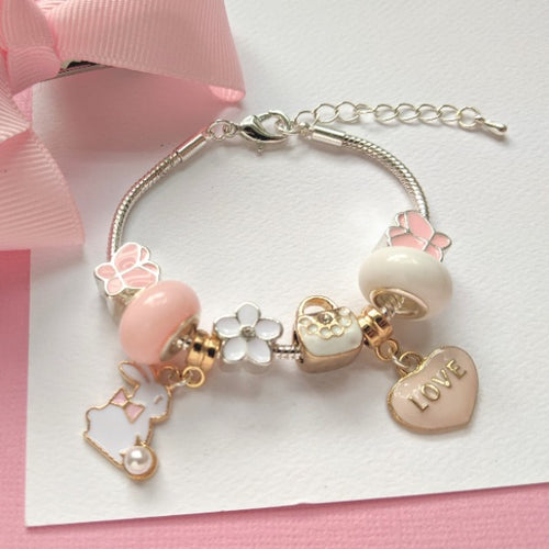 Benjamin Bunny Charm Bracelet by Lauren Hinkley - Two Little Feet