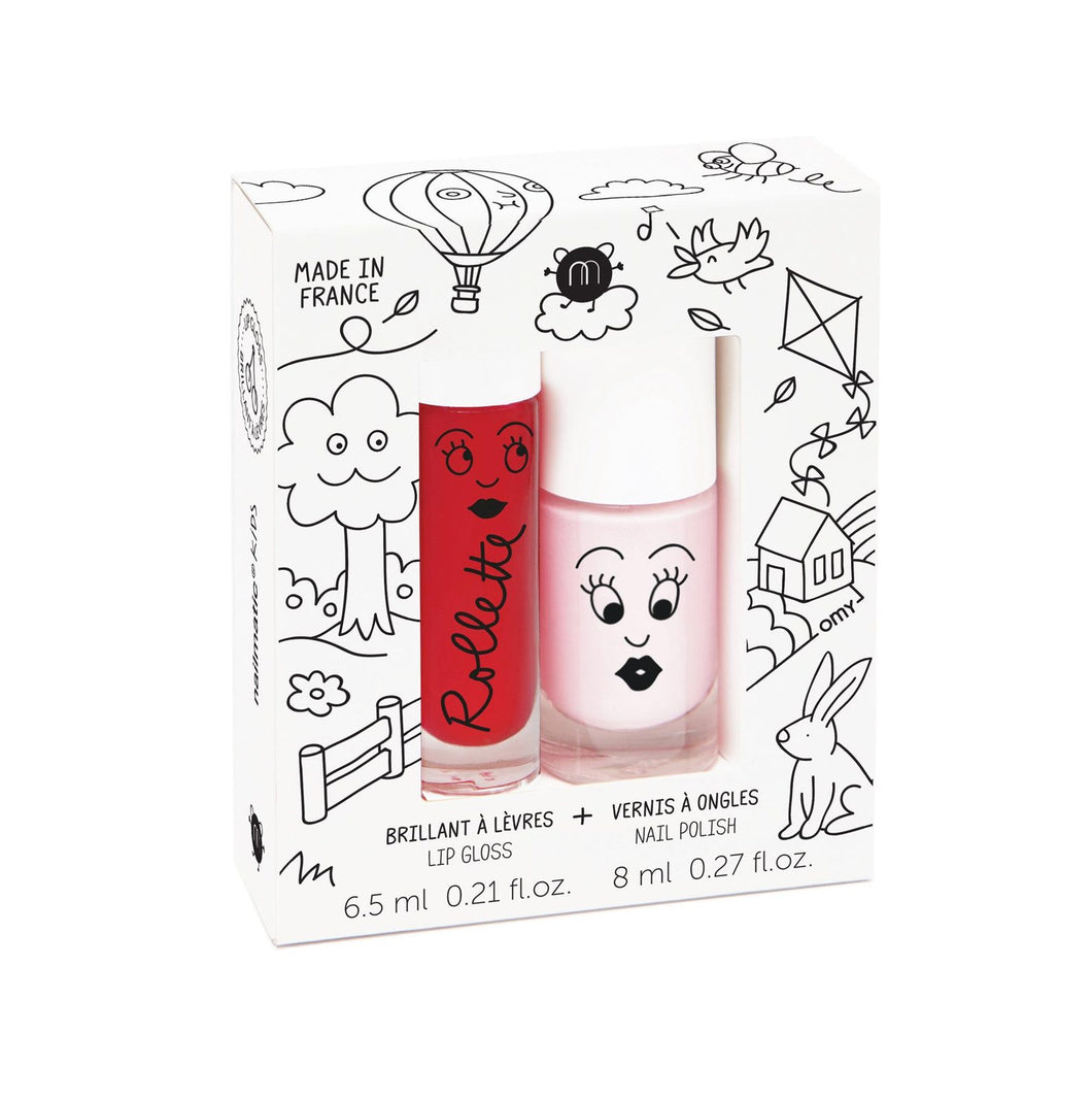 Nailmatic Rollette Nail Polish Duo Set - Kids Cottage