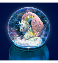 DJECO SNOW GLOBE NIGHT LIGHT UNICORN