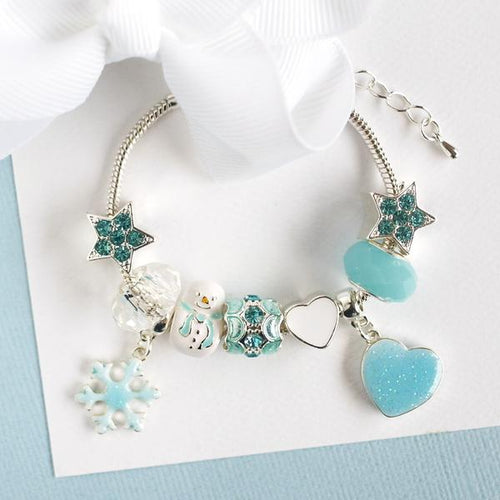 Ice Princess Charm Bracelet by Lauren Hinkley - Two Little Feet