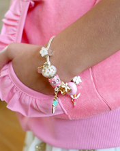 Load image into Gallery viewer, Sugar Plum Fairy Charm Bracelet by Lauren Hinkley