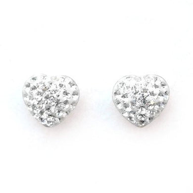 Diamante Heart Earring by Lauren Hinkley