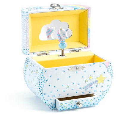 DJECO UNICORN DREAM MUSICAL JEWELLERY BOX