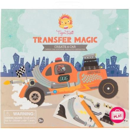 TIGER TRIBE TRANSFER MAGIC CREATE A CAR - Two Little Feet
