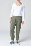 The Khaki Lyocell Pant