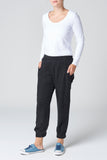 The Black Lyocell Pant